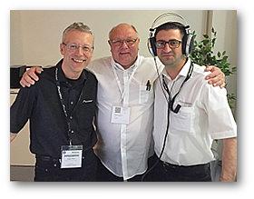 Jürgen Timm, Ingo Handen und Sherif Günes