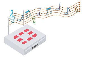 Musikalisches Netzwerk