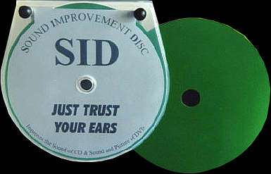 SID Disc-Auflage
