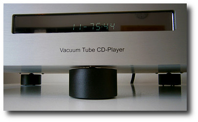 Novapad Absorber Plus unter Ayre CD-Player