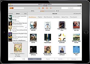 Burmester iPad App mit Portal Qobuz