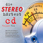 die STEREO hörtest cd Volume VII