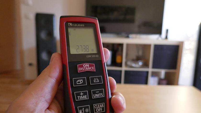 Kaleas Laser Distanzmesser LDM 500-60