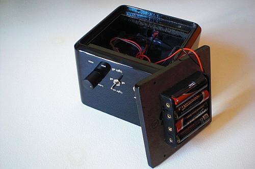 SteinMusic H2b offenes Batteriefach