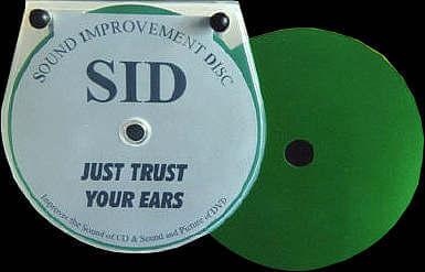 SID Disc-Auflage für CD, SACD und DVD-A - HiFi Test