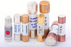 Audiophile Sicherungen