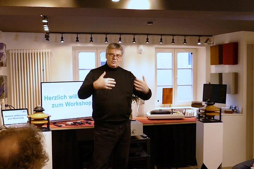 Workshop mit Norbert Maurer
