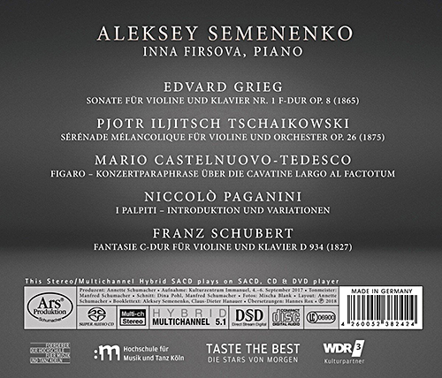 Aleksey Semenenko - Romantic Brillant Imaginative - Inlet
