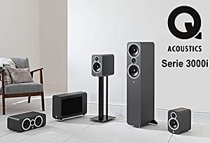 Q Acoustics 3000i Lautsprecherserie - HiFi News