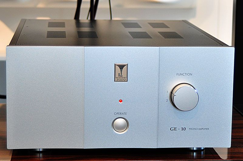 Kondo_GE-10_Phono_Amp_High_End_Munich_2018