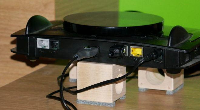 Entstörung und Entkoppelung Router