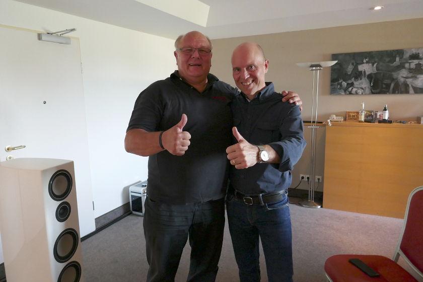 Ingo Hansen und Markus Belzer