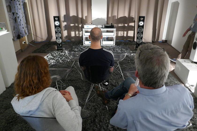Süddeutsche HiFi-Tage -Musical Fidelity und Triangle