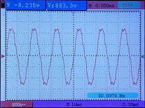 Optimierte Netzfrequenz