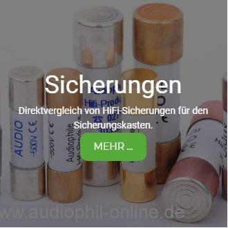 HiFi Sicherungen Test