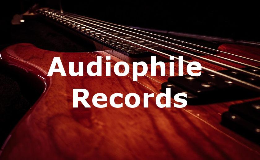 Audiophile CD, Vinyl und Digital Records