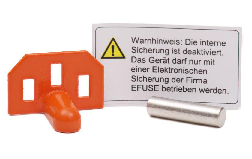 EFUSE Überbrückungsstift