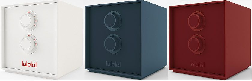 Audiodinamica BeCube Line dreifarbig