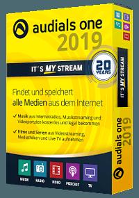 3D Packshot Audials One 2019