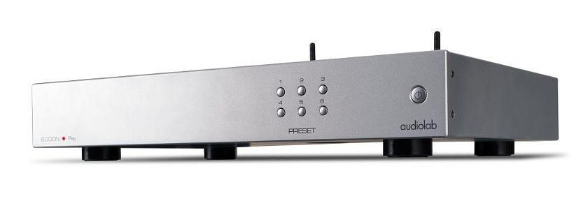 audiolab 6000N Play Frontansicht