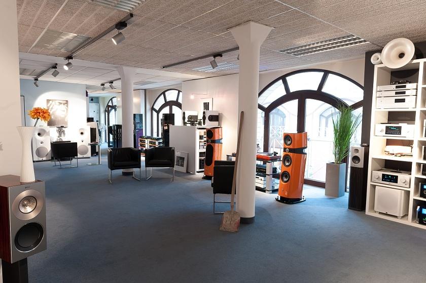 Alex Giese HiFi Ladengeschäft im Zentrum von Hannover