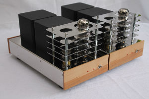 Menning Audio 300 B chrome line