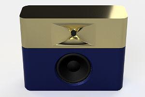 GGNTKT Model M1 gold/blau