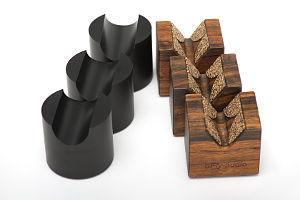 Kabelhalter Tower und Cube von bFly-audio
