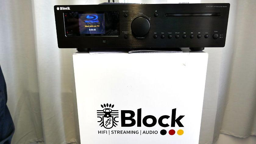 Block CRV-200 auf den Mitteldeutsche Hifi-Tage 2019