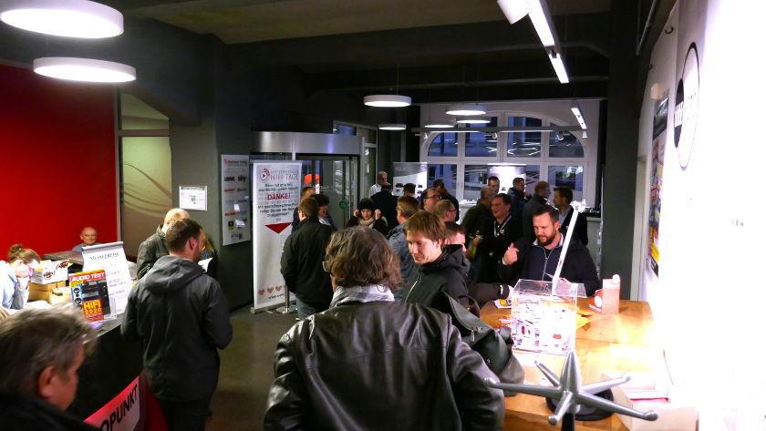 Empfangshalle Mitteldeutsche HiFi-Tage 2019