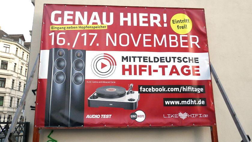 Plakat Mitteldeutsche HiFi-tage