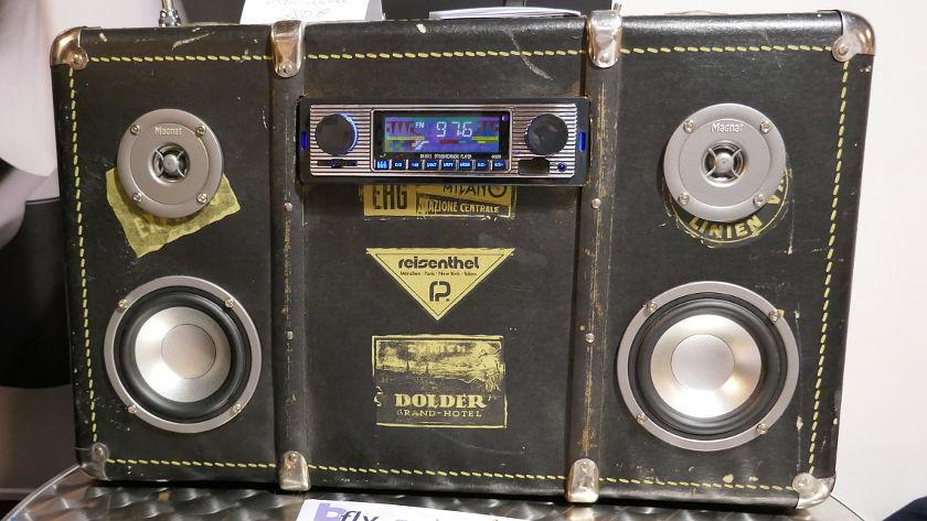 bFly-audio Kofferradio