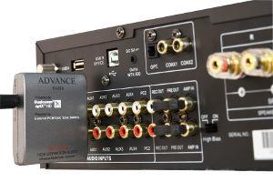 WTX700 Adapter an Verstärker