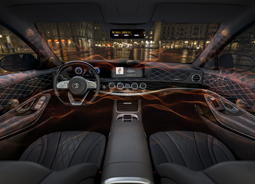 3D-Sound im Auto ohne Lautsprecher