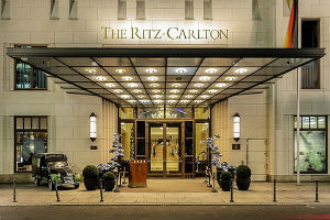 Eingangsbereich The Ritz Carlton Berlin