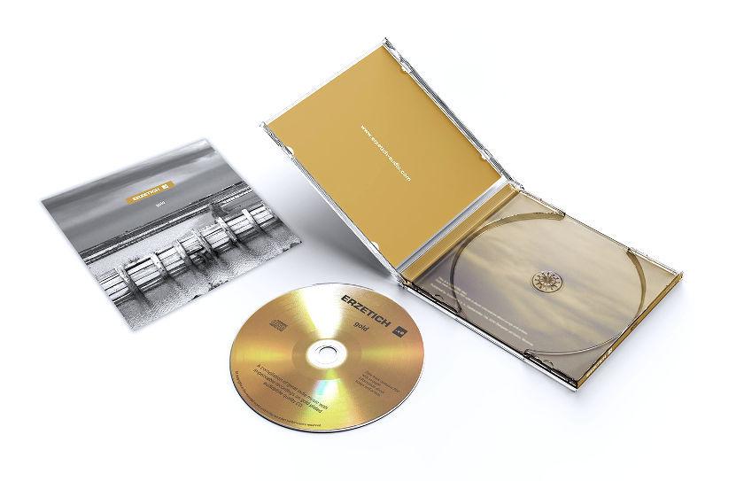 Gold CD mit Hülle und Cover