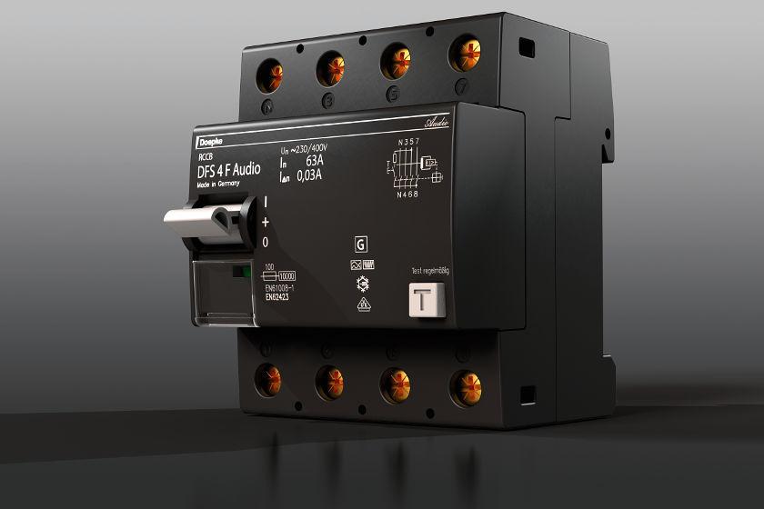 Fehlerstromschutzschalter DFS-Audio-F-by-Doepke