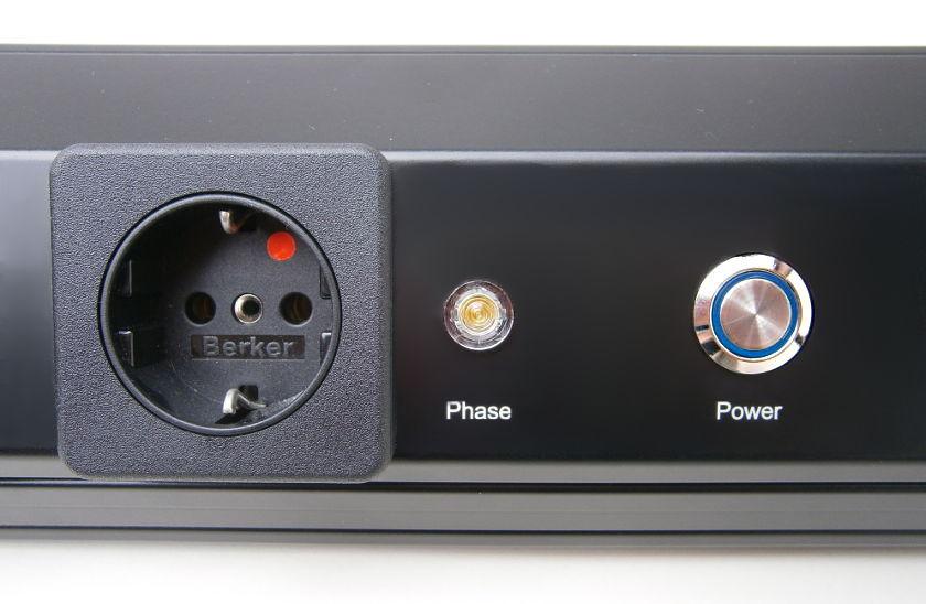 EFUSE Phasenindikation und Powerbutton