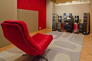 Klangoptimierter Hörraum
