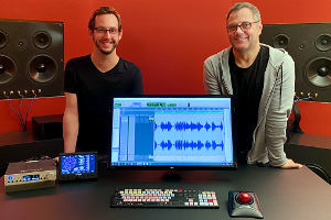 David Merkl und Stefan Bock im Studio A