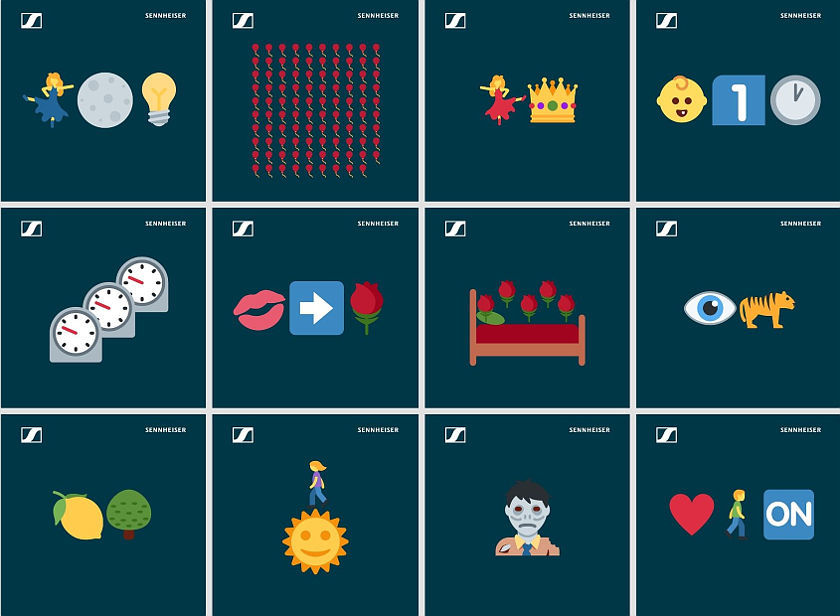 Sennheiser Emoji-Quiz