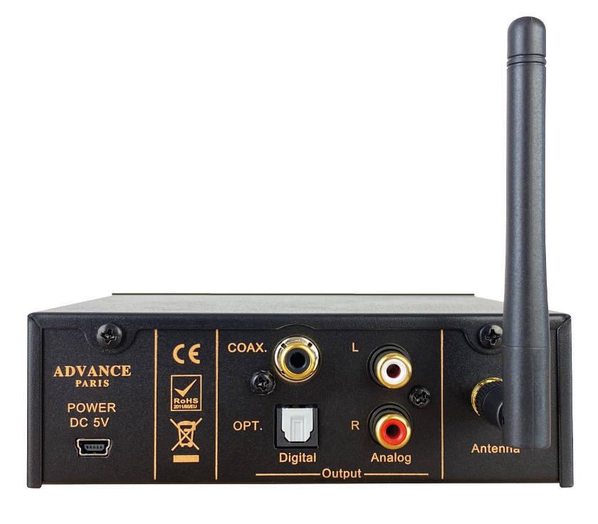 WTX-1100 Rückansicht