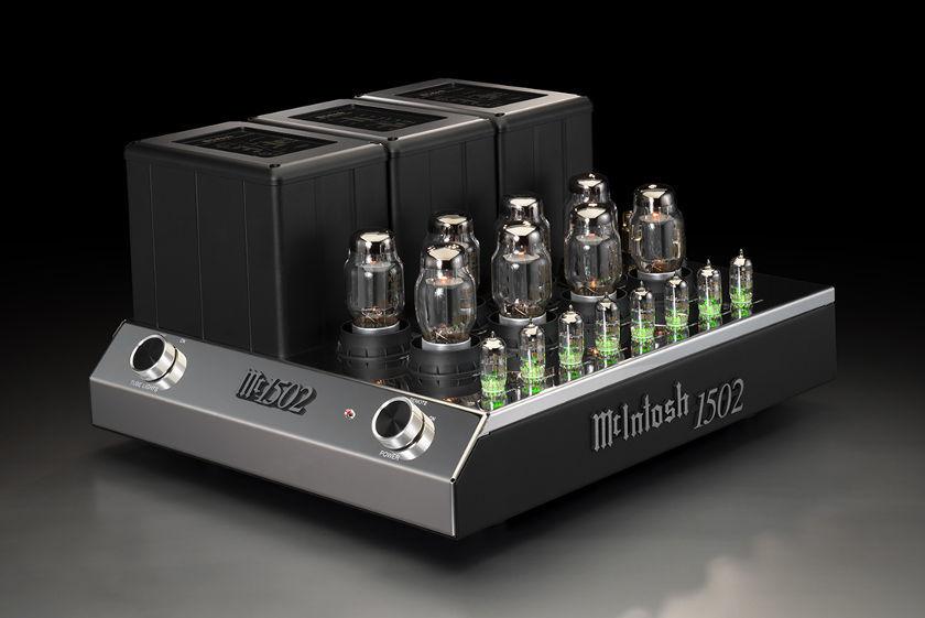 McIntosh MC1502 Röhrenverstärker - HiFi News