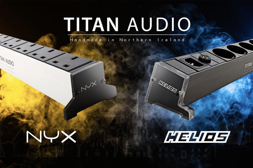 Nyx & Helios Netzleisten von Titan Audio - HiFi News