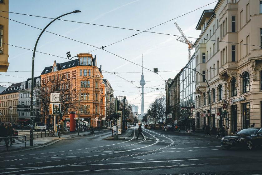 Berlin, Blick auf Fernsehturm