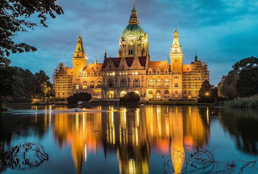 Hannover - Town Hall Lake