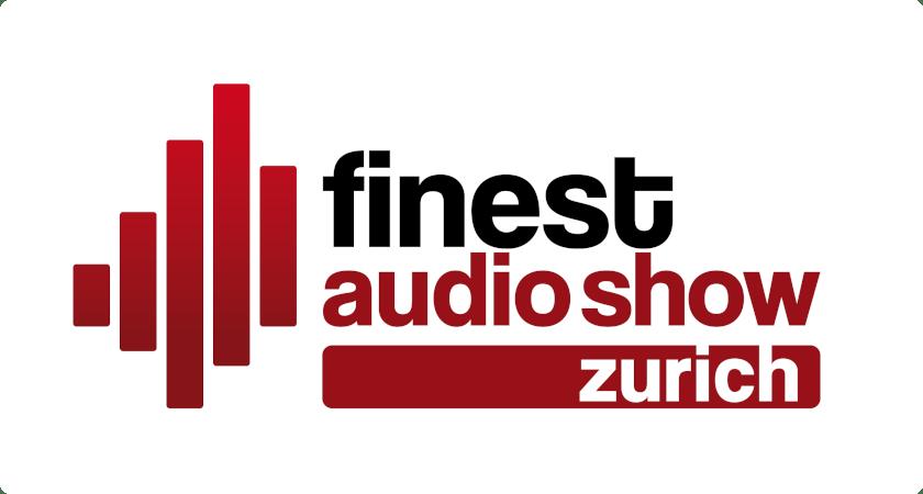Logo finest audio show zurich