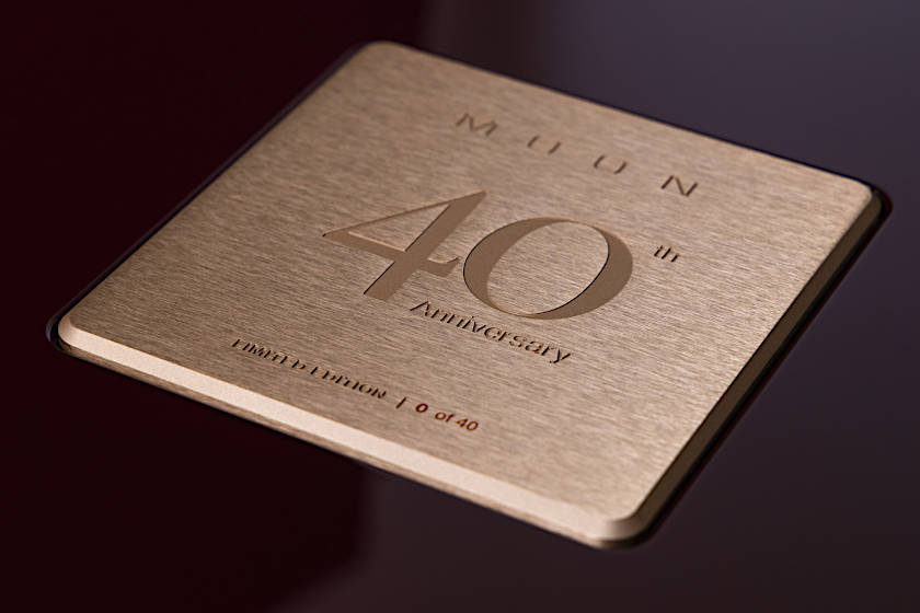 MOON 40 Anniversary Logo