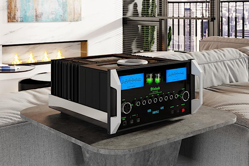McIntosh MA12000 Hybrid-Vollverstärker - HiFi News