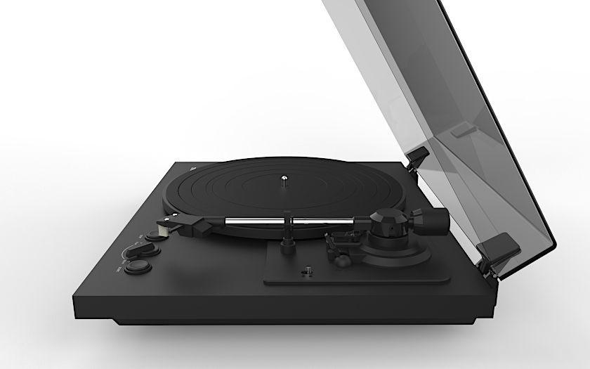 TEAC TN-175  mit audio-technica Tonabnehmer